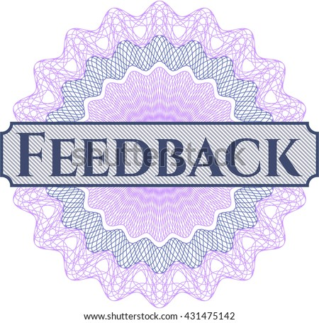 Feedback abstract rosette