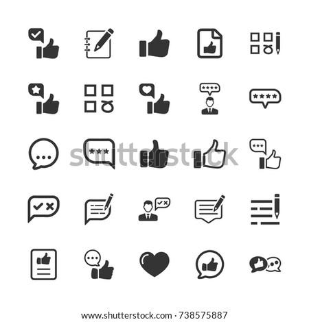 Feedback Icons #738575887