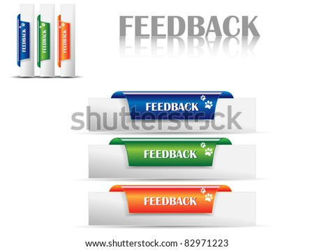 Feedback Labels,bookmarks for feedback-Vector