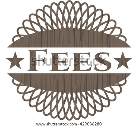 Fees wood emblem. Retro