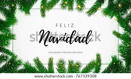 feliz navidad spanish merry...