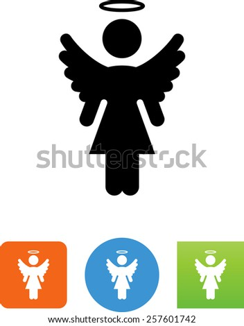 female angel symbol for