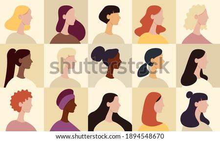 female avatar set collection