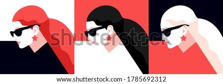 female avatars redhead