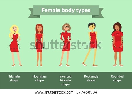 female body types girls with