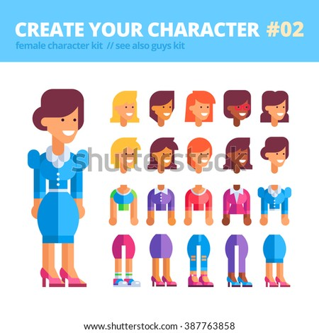 female character creation kit