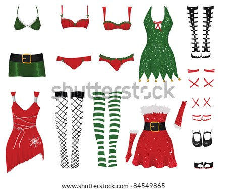Female Christmas clothes