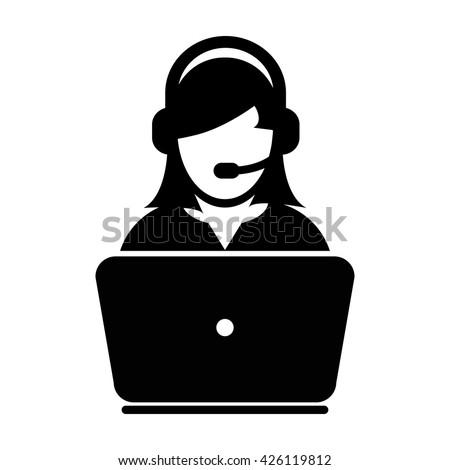 female customer service icon