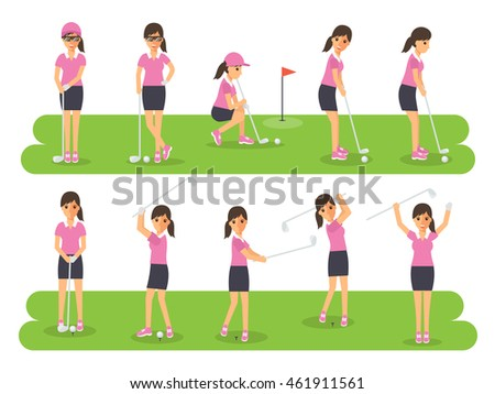 female golf sport athletes