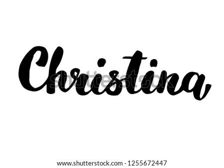 female name   christina