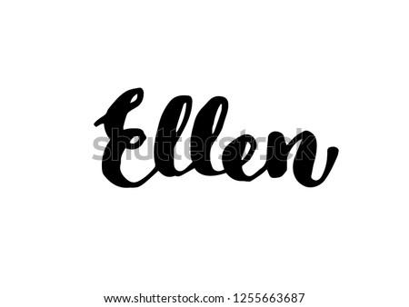 female name   ellen