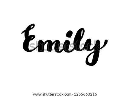 female name   emily