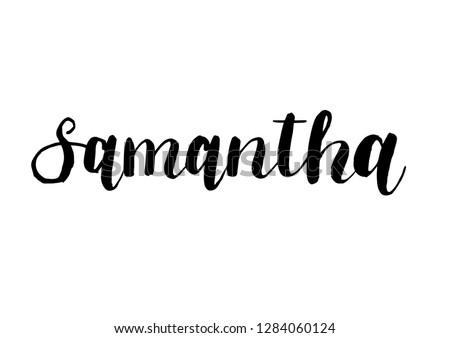 female name   samantha