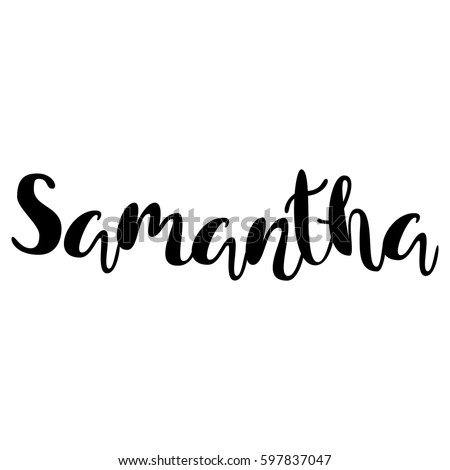 female name   samantha