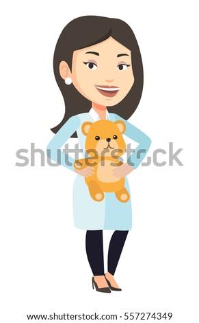 female pediatrician doctor