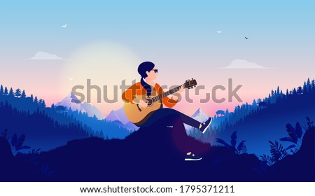 female singer and songwriter