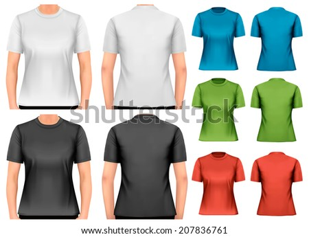 female t shirts design
