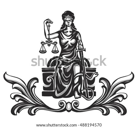Photo Collection Free Lady Justice Vector