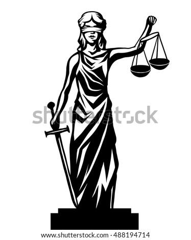 femida   lady justice   graphic