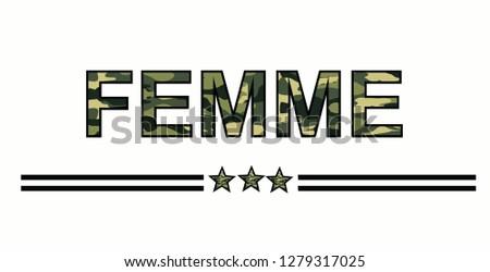 femme army star
