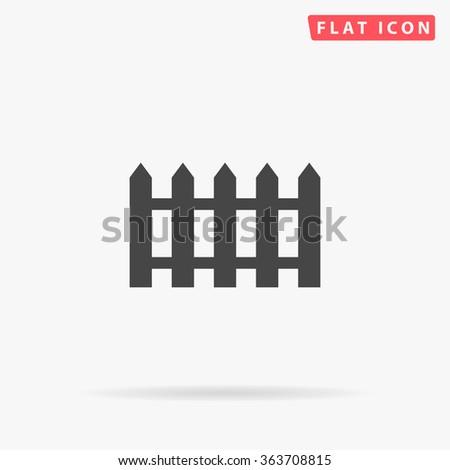 fence icon vector fence icon