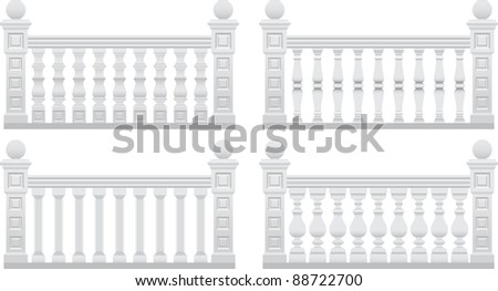 fence with stone pillars