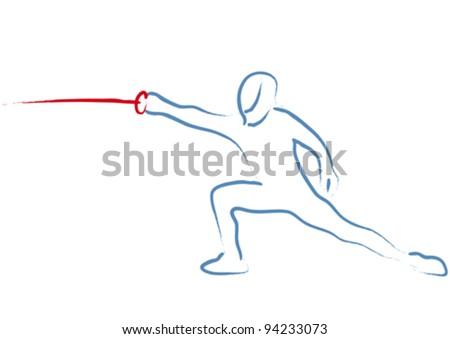 fencing - stock vector