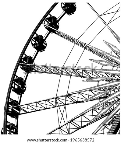 ferris wheel realistic