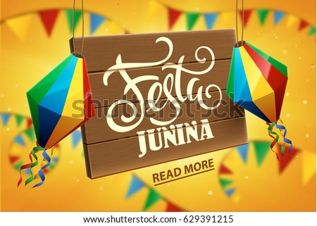 festa junina background holiday