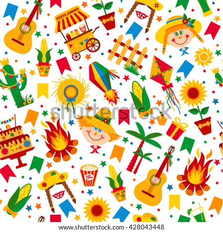 festa junina village festival