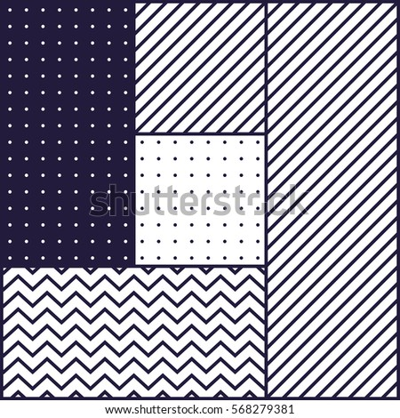 Festive Background in Neo Memphis Style Monochrome Decorative Wallpaper with Simple Editable Bold Block violet and white Color positive digital print