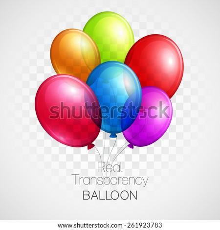 festive balloons real