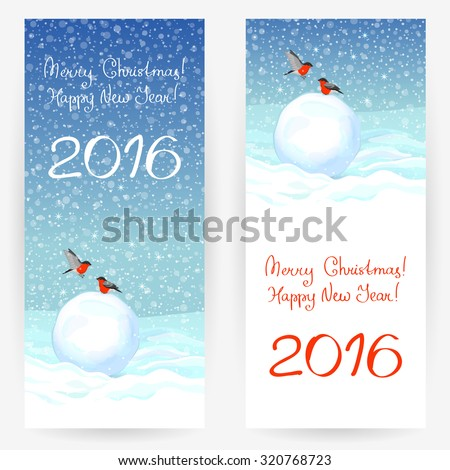 festive greeting cards with