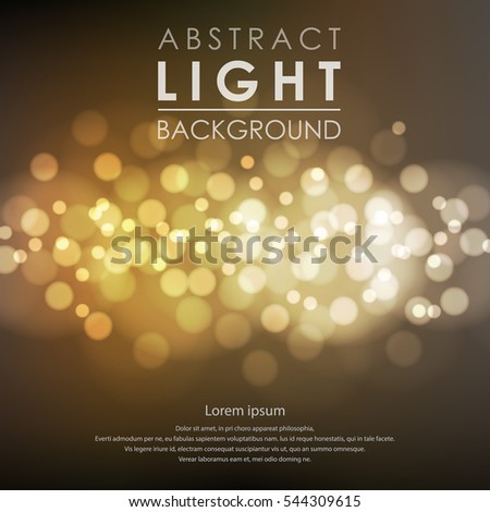 Festive light background with blur #544309615
