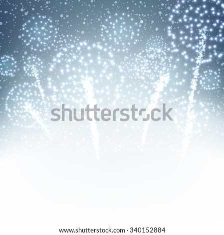 festive xmas firework