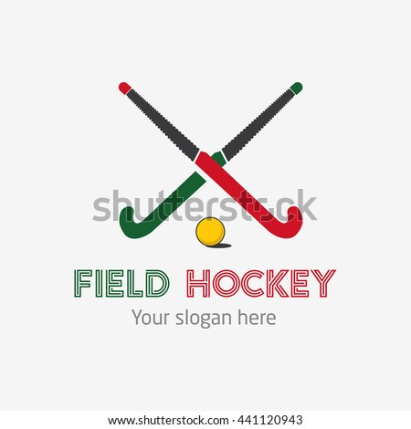 field hockey team logo vector
