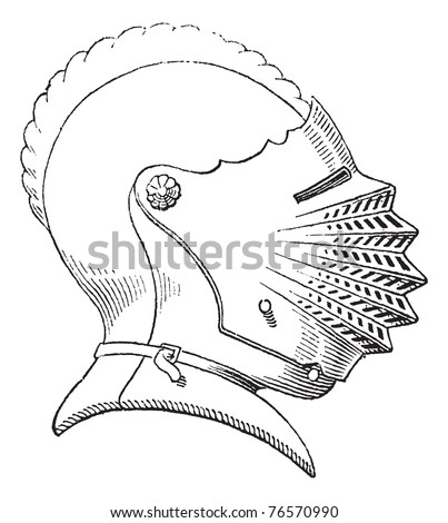 Crochet Pattern PDF - Sir Knight Helmet - Etsy - Your place to buy