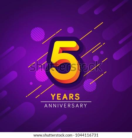 Fifth Years Anniversary