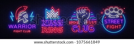fight club collection neon...