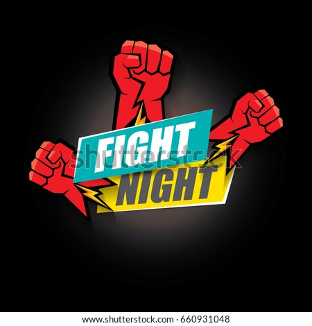 fight night vector modern