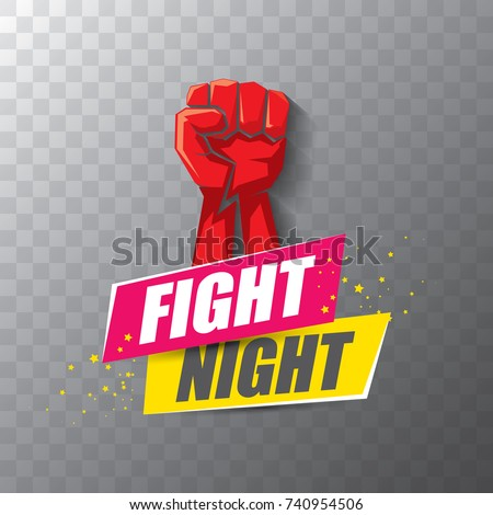 fight night vector modern
