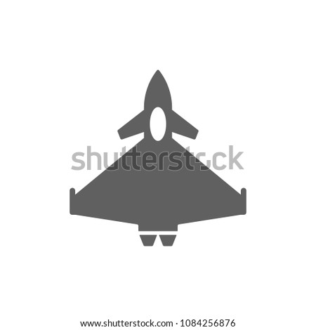 fighter aircraft typhoon icon