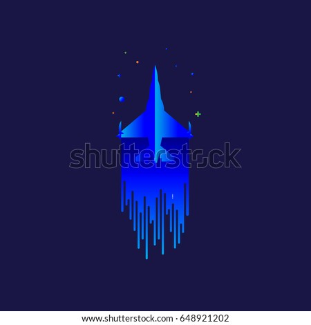 fighter  jet  f 16 icon vector