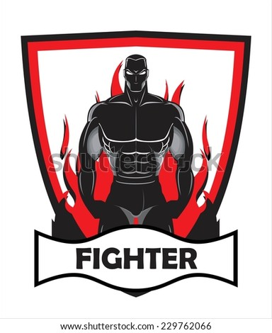 fighter on fire combine with