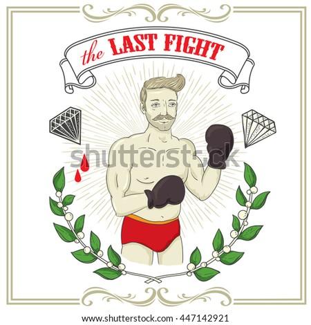 fighter tattoo art design new