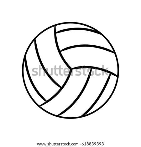 figure ball to play volleyball icon