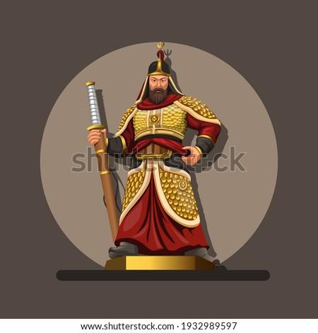 figure of admiral yi sun  he