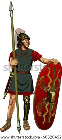 figure of Roman legionary