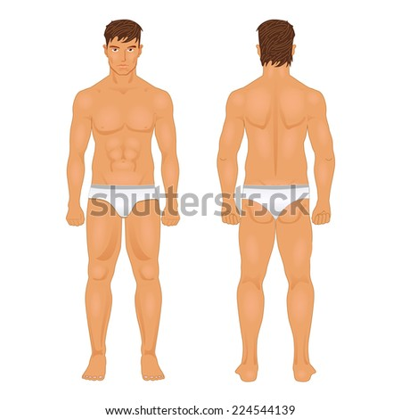 royalty free figure of the standing man in front and 162227054