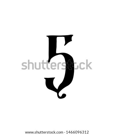 figure 5 vector logo for the